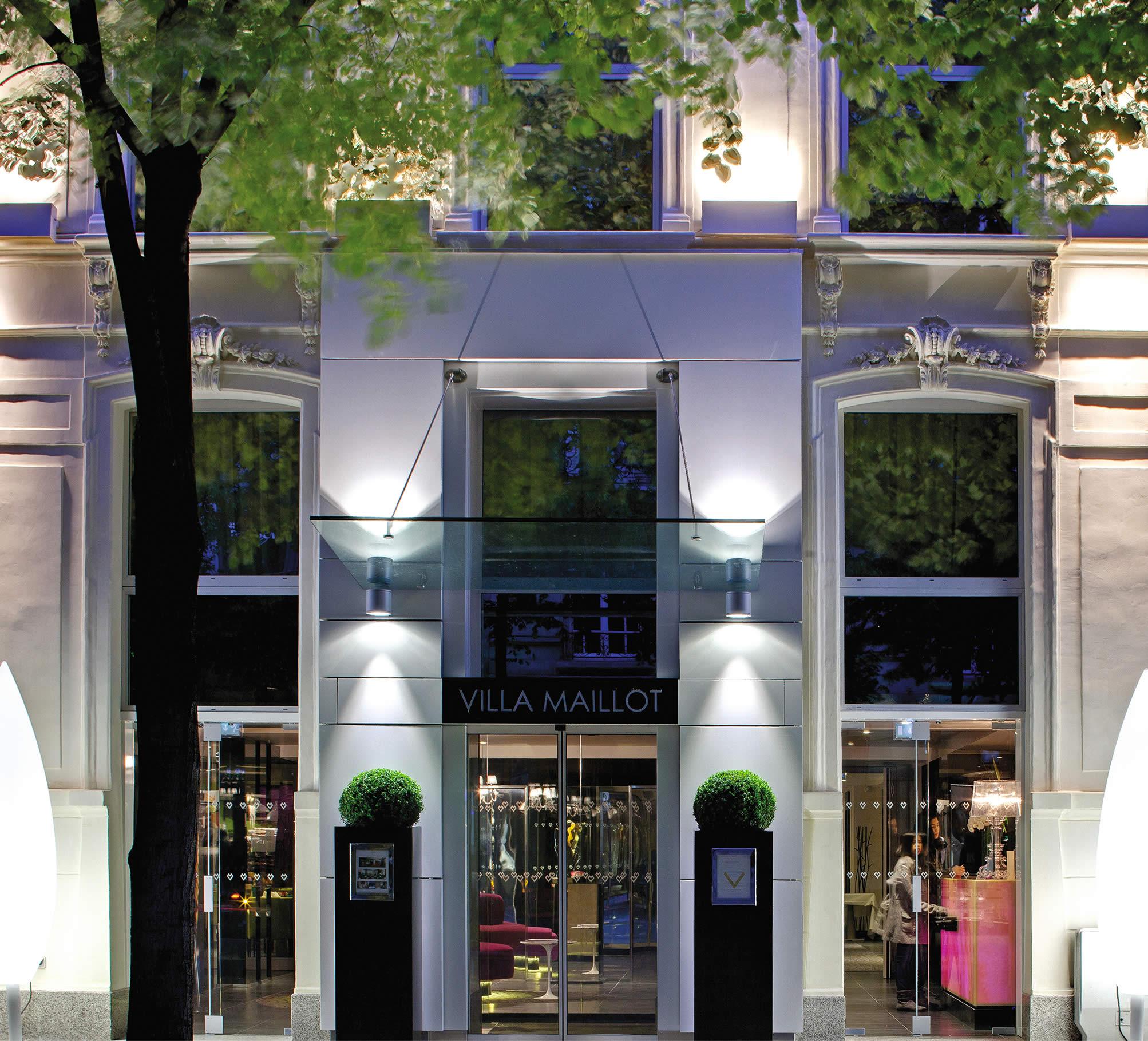 Hotel Villa La Parisienne Parigi la villa maillot | hôtel 4 étoiles au coeur de paris arc de