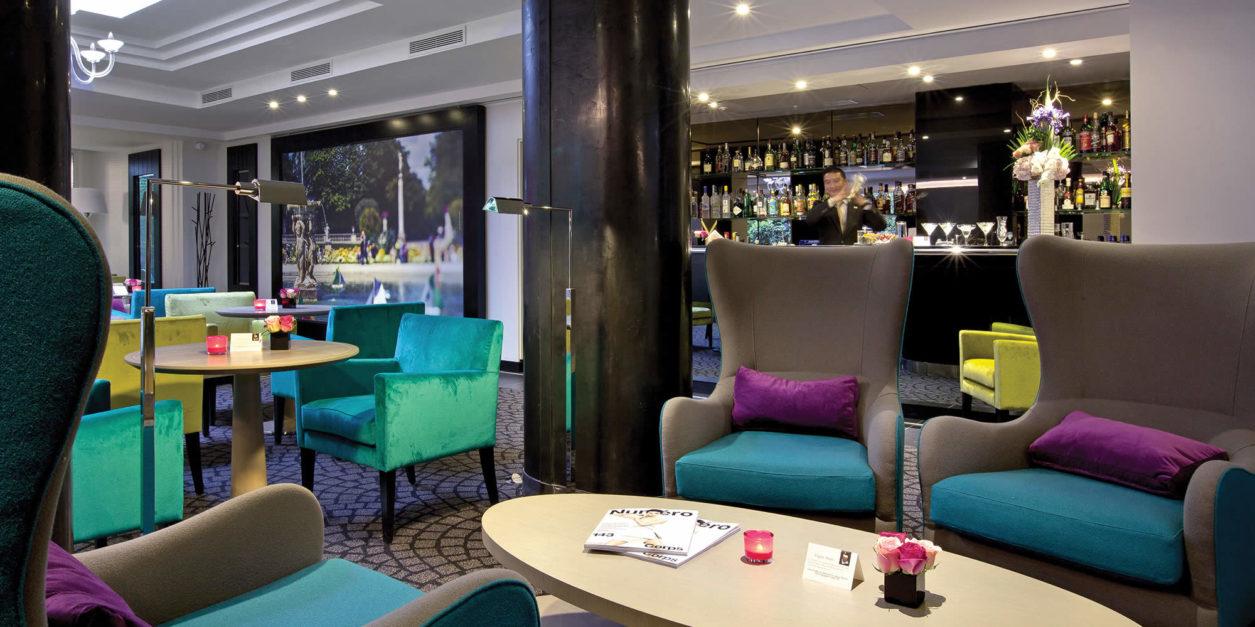 Hotel Villa La Parisienne Parigi la villa maillot | bar à l'ambiance luxe et feutrée à paris